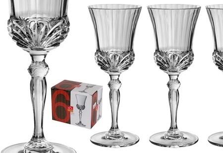 Набор 6 бокалов для вина 160 мл RCR Аурея