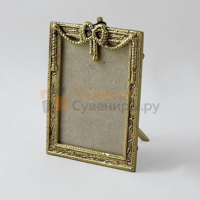 Фоторамка из бронзы Золото