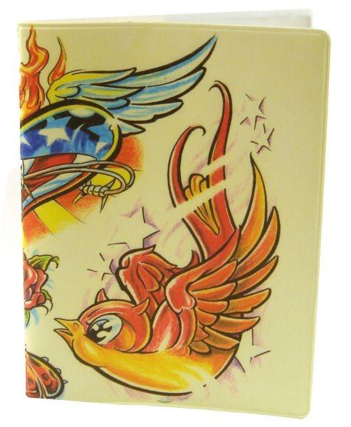 Обложка для паспорта Miusli Tattoo
