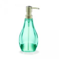 Бирюзовый диспенсер для жидкого мыла Droplet
