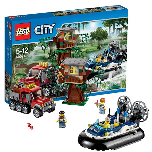 Конструктор - LEGO City Полицейский корабль