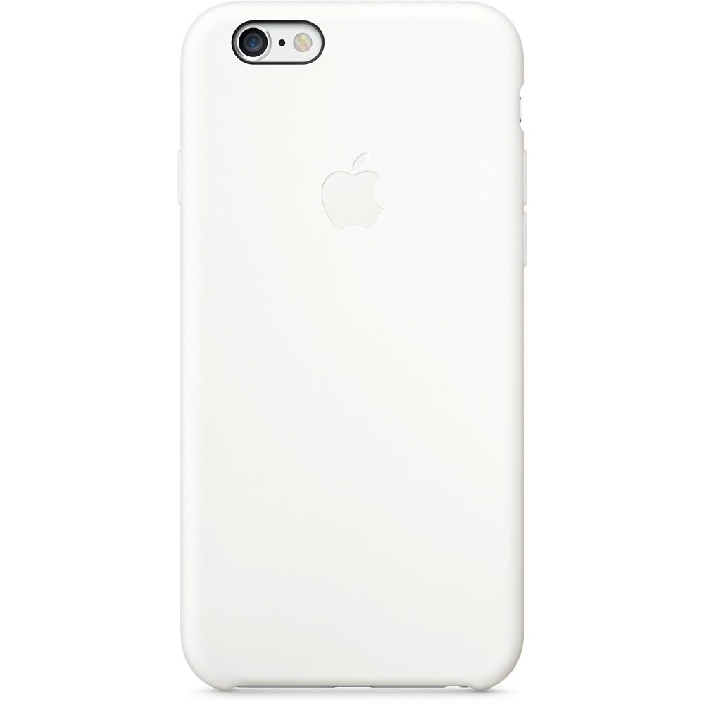 Белый силиконовый чехол для Apple iPhone 6
