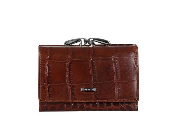 Женский кожаный кошелек Fabretti