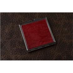 Карманное зеркальце (красная игуана)