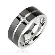 Мужское кольцо из стали Spikes