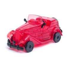 Головоломка 3D Crystal Puzzle Красный кабриолет