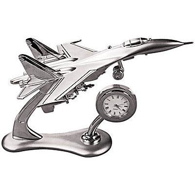 Модель самолета с часами