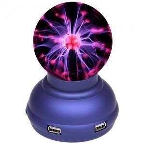 USB хаб Плазменный шар