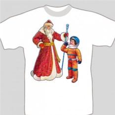 Подарочная футболка «Космонавт»