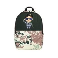 Зеленый рюкзак Camouflage Backpack (цвет - камуфляж)