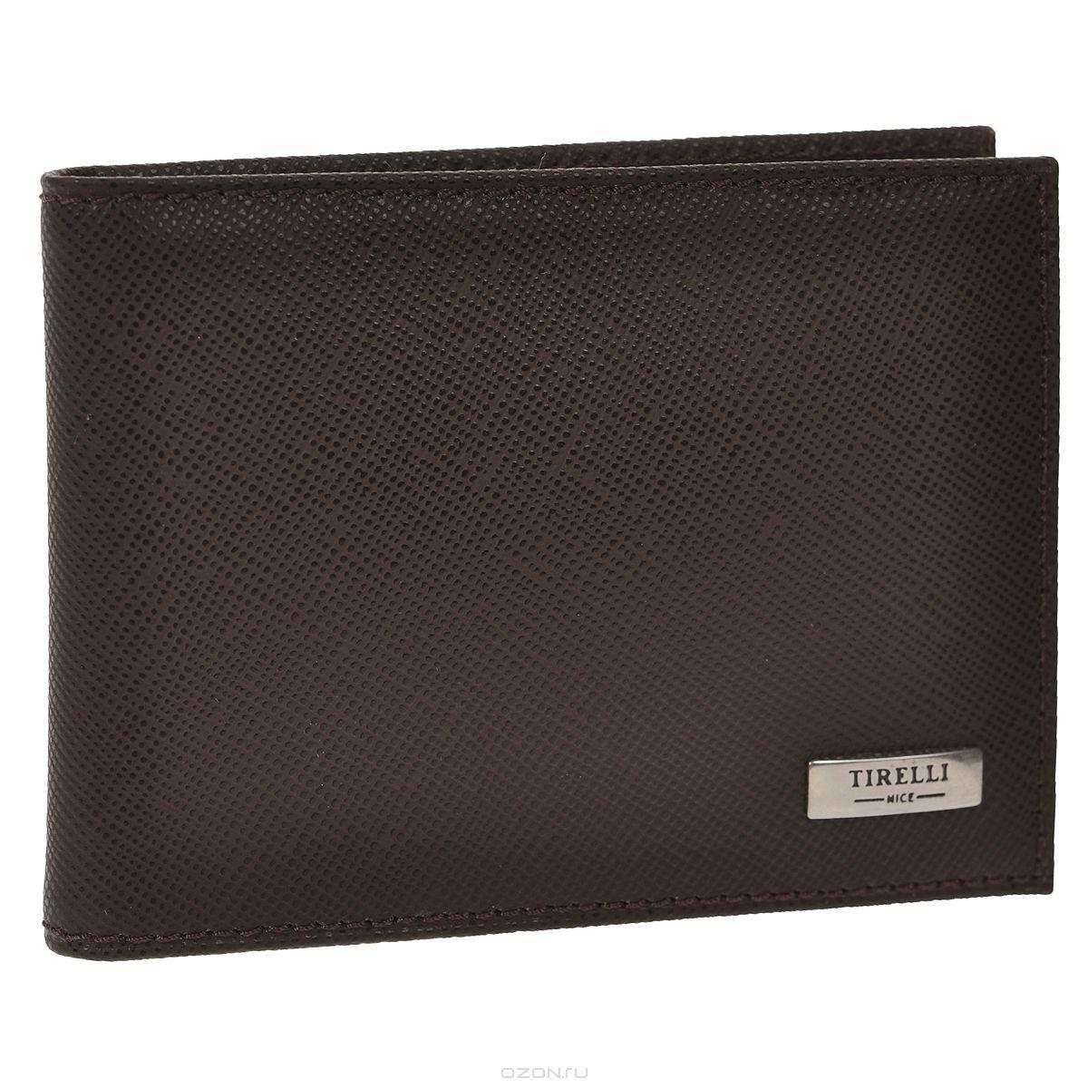 Футляр для карточек Tirelli Виктория, коричневый