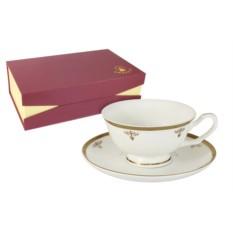 Чайный набор Ампир из 6 чашек и 6 блюдец