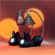 Светильник Черный кот
