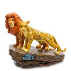 Фигурка Disney Симба и Нала (Любовь на львиной скале)
