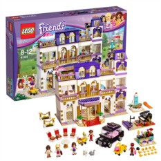 Конструктор Lego Friends Гранд Отель в Хартлейк Сити