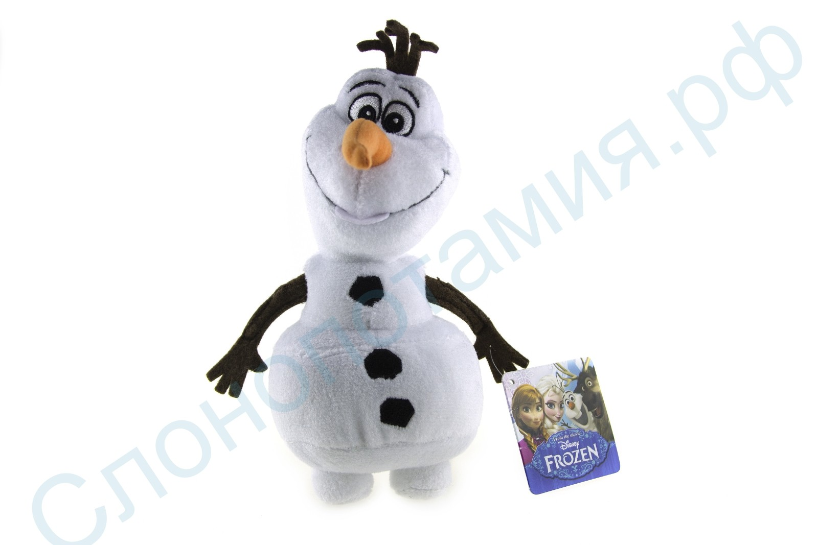 Мягкая игрушка Снеговик Олаф, 22 см