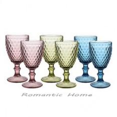 Набор цветных бокалов Bourbon