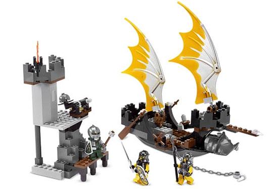 Игрушка LEGO: Корабль Рыцарей-злодеев