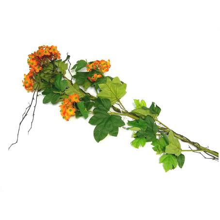 Цветок искусственный оранжевый