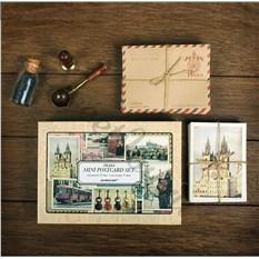 Набор мини-открыток с конвертами Praha