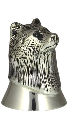 Серебряная рюмка Звери