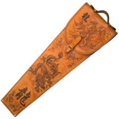 Набор с шампурами с рукоятью из бронзы Дракон