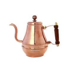 Заварочный медный чайник, металлический, Москва (0,9 л)