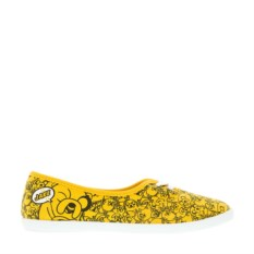 Желтые балетки Adventure Time