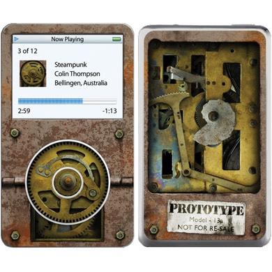 Обложка для iPod Video Steampunk