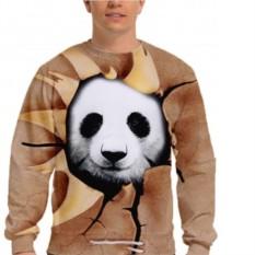 Мужской 3D свитшот Панда