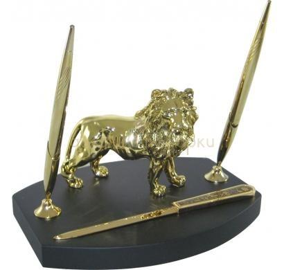 Настольный набор Лев
