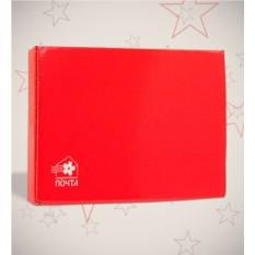 Красная подарочная коробка