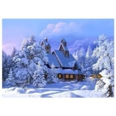 Картина по номерам на холсте Усадьба