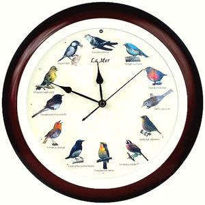 Часы настенные поющие «Птичьи трели»