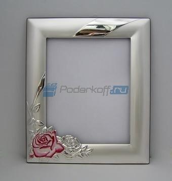 Фоторамка-зеркало Роза