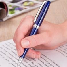 Ручка Легенда (синяя с серебристыми элементами)