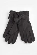 Женские перчатки Мадлен (черные)
