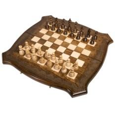 Большие шахматы и нарды ручной работы Лоза