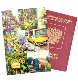 Обложка для паспорта с Вашими изображениями