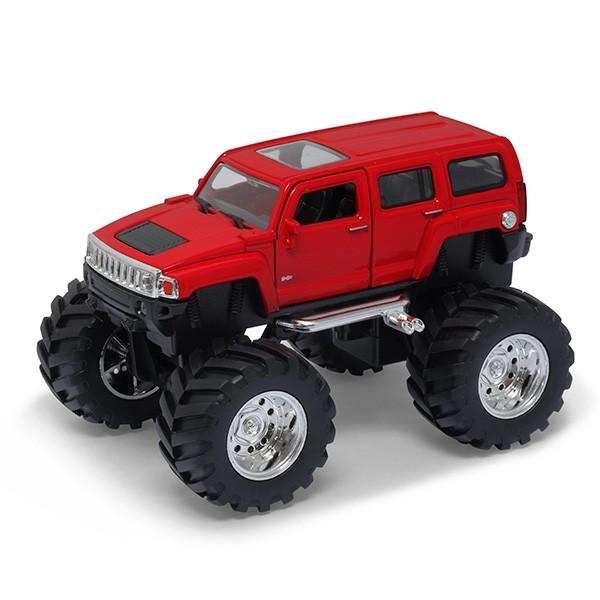 Модель машины Welly 1:34-39 Hammer H3 Big Wheel от Mattel