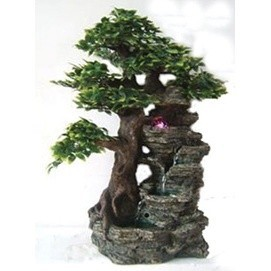Фонтан с помпой «Дерево»