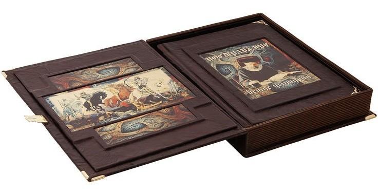 Книга Иллюстрированный Нострадамус. Вещие центурии (короб)