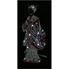Картина с кристаллами Swarovski Японская девушка