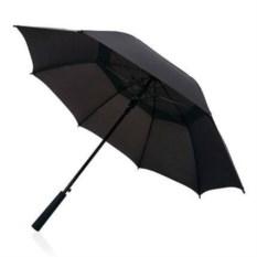 Черный зонт-антишторм Tornado Swiss Peak 23