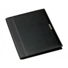 Черная папка А4 Millau на молнии с блокнотом от Balmain