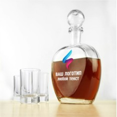 Штоф для напитков Корпоративный