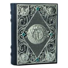 Книга Православный молитвослов с филигранью