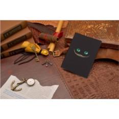 Кожаная обложка для паспорта Elole Design Чеширский кот
