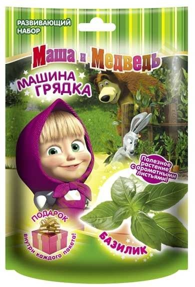 Набор для выращивания Базилик (Маша и Медведь)