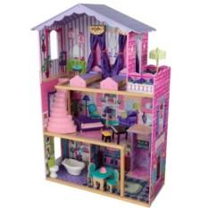 Деревянный домик Барби Особняк мечты